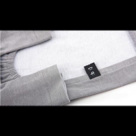 xoxo Stitch Top Gray