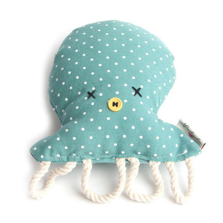 Octopus toy Green