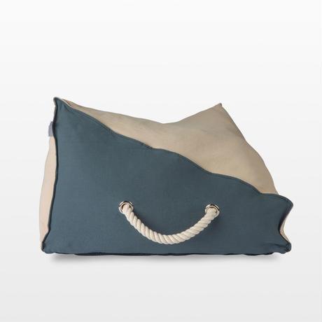 The Standard Double Cushion Ash Blue