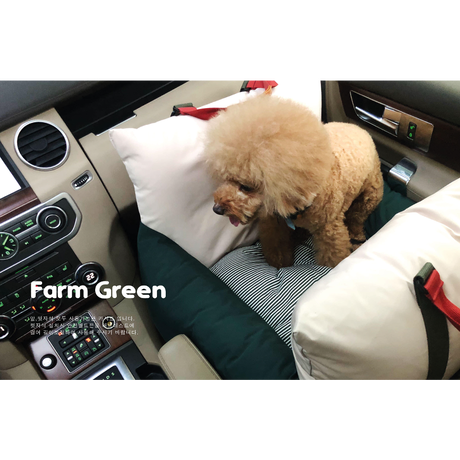 Mon carseat Farm Green