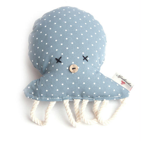 Octopus toy Blue