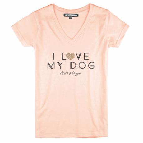 I Love My Dog Woman T-Shirt