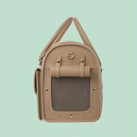 Wonder Nest Pet Travel Bag  DARK BEIGE
