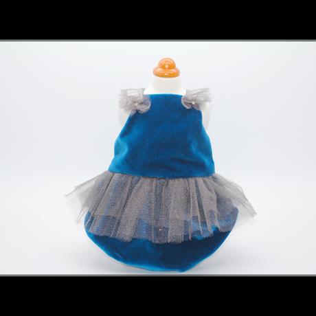 Velvet and shine dress