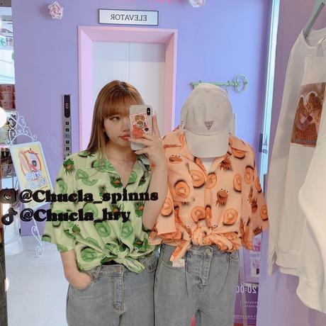 THE  MUPPETS©︎Disney 開襟シャツ