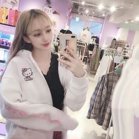 Hello Kitty×Chuuフードパーカー(Chuu)