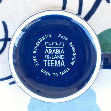 ARABIA アラビア ティーマ マグカップ ネイビー(廃番)