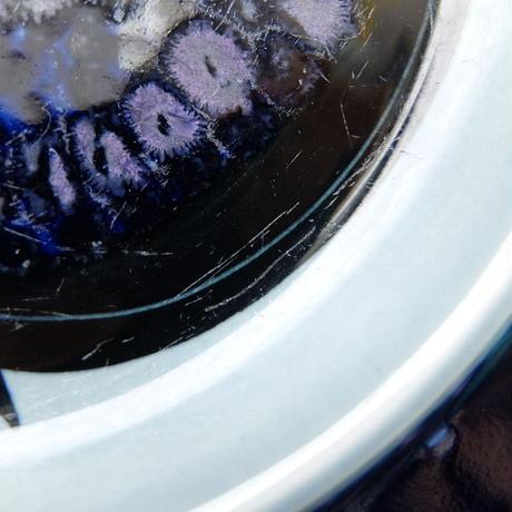 ARABIA アラビア フラクタス プレート(M)(ブルー)