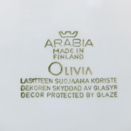 ARABIA アラビア オリビア プレート(S)