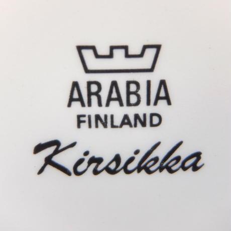 ARABIA アラビア キルシッカ シュガーポット(蓋なし)