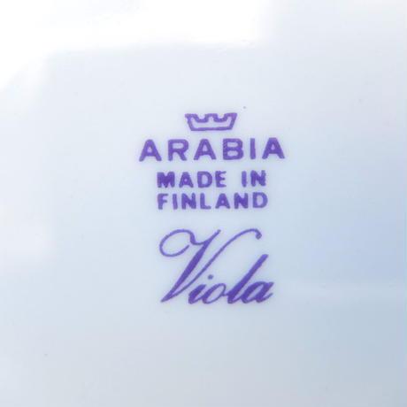 ARABIA アラビア ヴィオラ プレート(S)