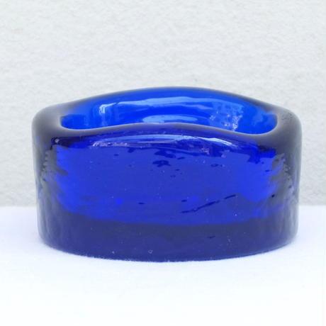 エリック・ホグラン Erik Hoglund 灰皿(S) ネコ ブルー