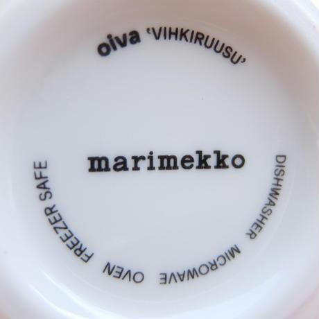 マリメッコ marimekko <Vihkiruusu>ボウル(スモーキーピンク)