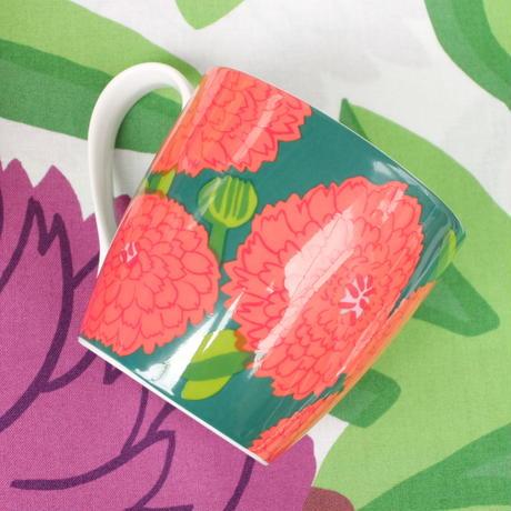 イッタラ Iittala × マリメッコ marimekko <Primavera>マグカップ(レッド×グリーン)レアカラー/未使用品
