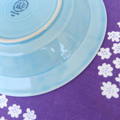 ビング・オー・グレンダール Bing&Grondahl コーディアル・パレット スープ皿(ターコイズ)