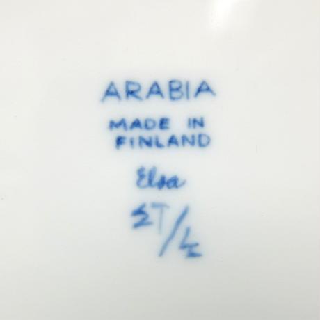 ARABIA アラビア エルサ プレート