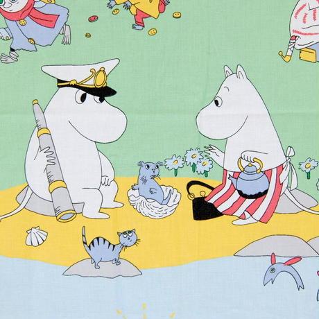 ムーミン Moomin  ヴィンテージ・ファブリック(ムーミン谷)