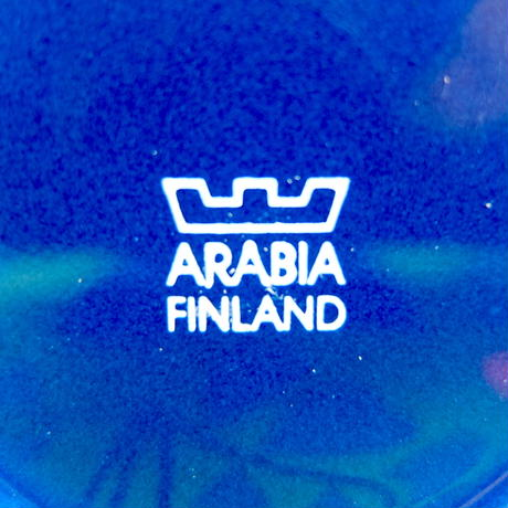 ARABIA アラビア ティーマ カップ&ソーサー(S) ネイビー