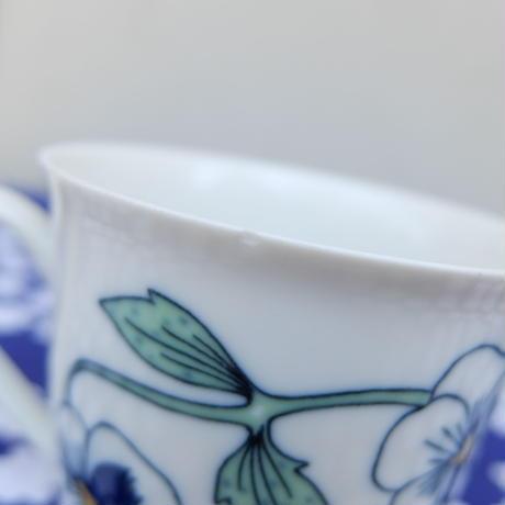 ロールストランド Rorstrand シルヴィア コーヒーカップ&ソーサー