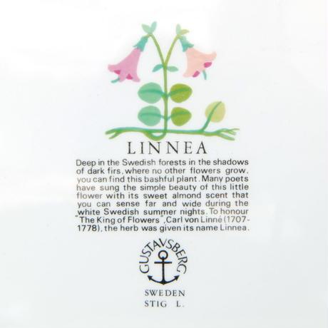 スティグ・リンドベリ Stig Lindberg リネア プレート(S)