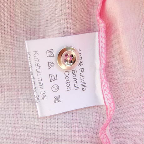 マリメッコ marimekko <Noppa>シャツ(ピンク)廃盤