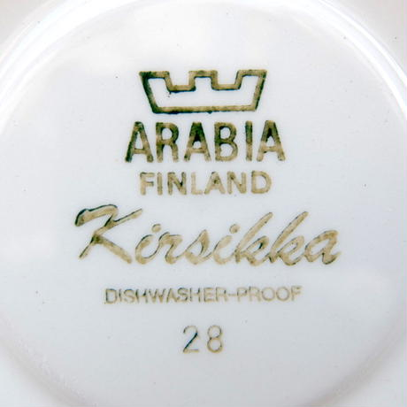 ARABIA アラビア キルシッカ カップ&ソーサー(小)