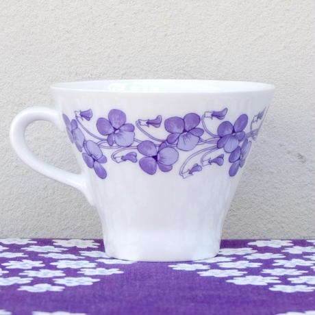 ARABIA アラビア ヴィオラ コーヒーカップ&ソーサー