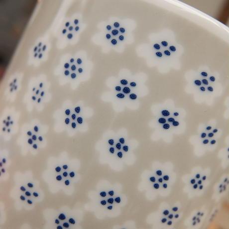 マリメッコ marimekko <Puketti>コーヒーカップ2個セット(ライトグレー)日本限定&販売店限定
