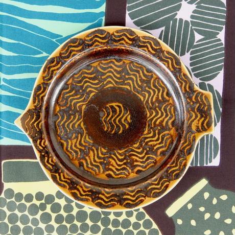 ARABIA カラ フィッシュプレート(M)