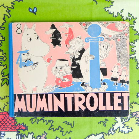 ムーミン Moomin ハードカバー・コミック「MUMINTROLLET」No.8 オリジナル