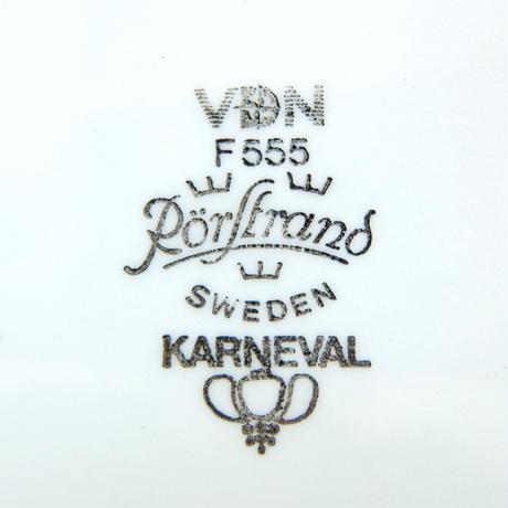 ロールストランド Rorstrand カーニバル プレート(M)