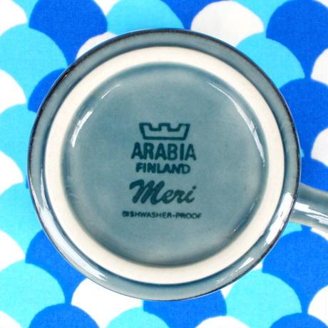 ARABIA アラビア メリ コーヒーカップ&ソーサー(大)