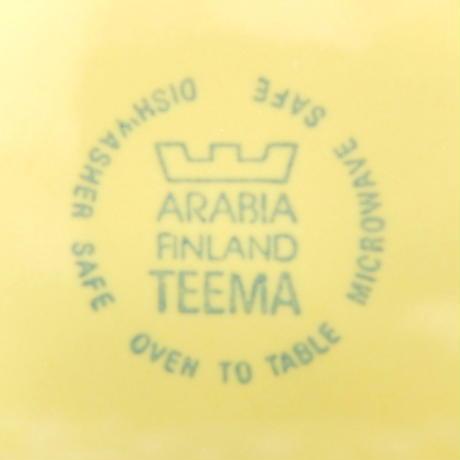 ARABIA アラビア ティーマ カップ&ソーサー(S)(a) イエロー