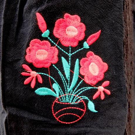 メキシカン刺繍ドレス 新品