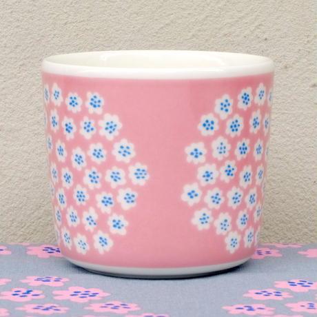 マリメッコ marimekko <Puketti>コーヒーカップ1個(ピンク)(a) 日本限定 廃盤 未使用品