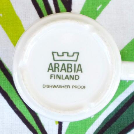 ARABIA アラビア クロッカス(カラー)カップ&ソーサー(小)