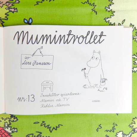 ムーミン Moomin ハードカバー・コミック「MUMINTROLLET」No.13 オリジナル