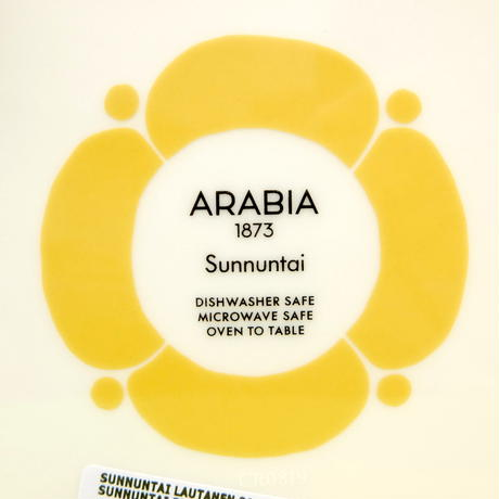 イッタラ Iittala / ARABIA アラビア サンヌンタイ プレート21cm 復刻版 新品