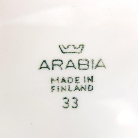 ARABIA アラビア プレート(L)(フルーツ)