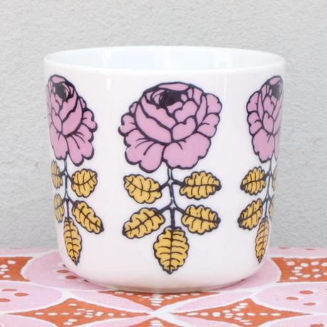 マリメッコ marimekko <Vihkiruusu>コーヒーカップ2個セット(スモーキーピンク)