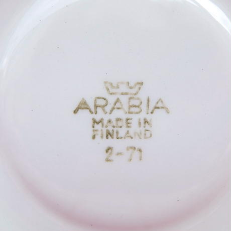 ARABIA アラビア イソクッカ カップ&ソーサー レア
