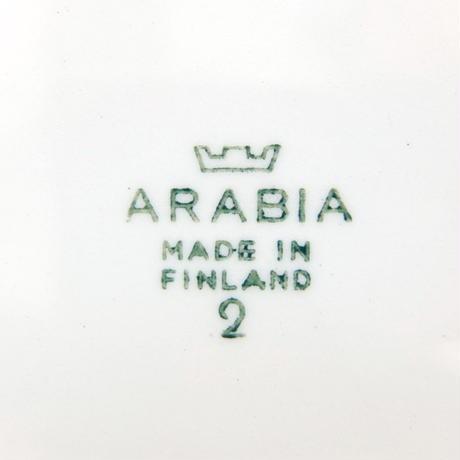 ARABIA アラビア プレート(S)(フルーツ)