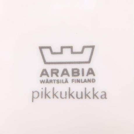 ARABIA アラビア ピッククッカ コーヒーカップ&ソーサー(ピンク)