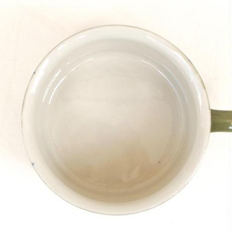 ARABIA アラビア ティーカップ&ソーサー(オリーブグリーン)