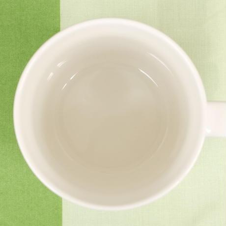 マリメッコ marimekko <Vihkiruusu>マグカップ(イエローライン)日本限定