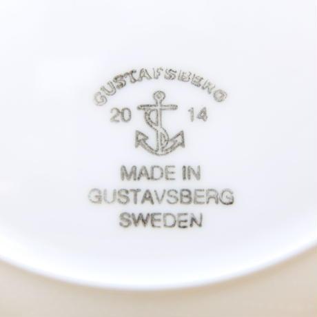 グスタフスベリ Gustavsberg X 鹿児島睦 アプリール プレート(グリーン)新品