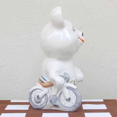 こぐまのミーシャ Misha フィギア(L)(自転車)