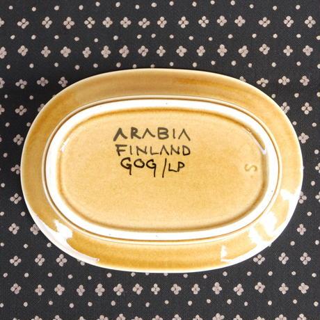 ARABIA アラビア フラクタス バターケース(イエロー)