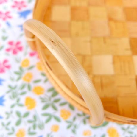 CHUFFYオリジナル 白樺トレイ(楕円)新品