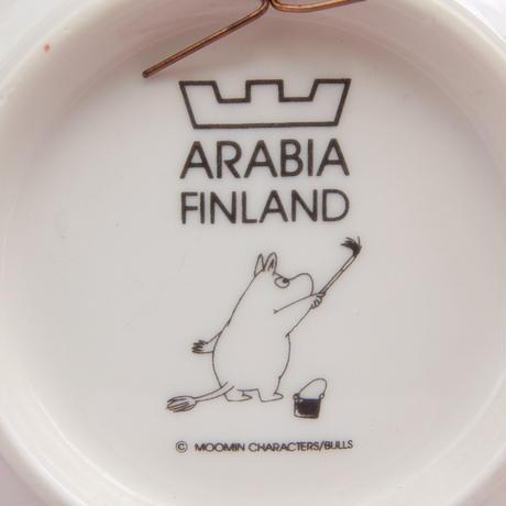 ARABIA アラビア ムーミン ウォールプレート(Back to Nature)